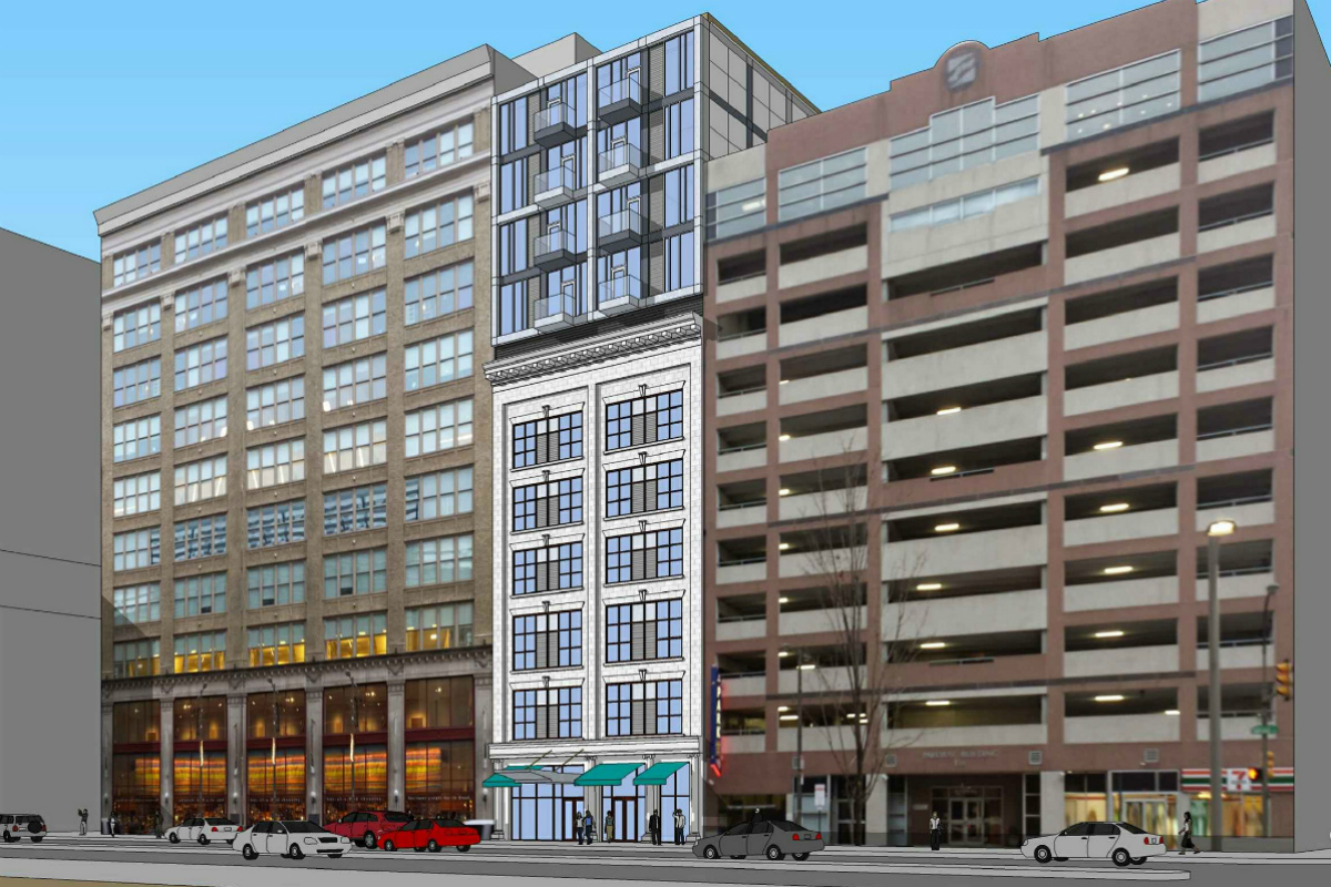 North broad garage building to be converted into for Building a garage apartment