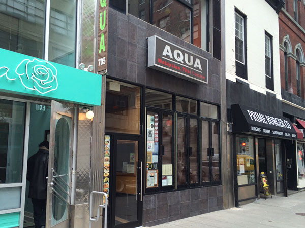 Aqua at 705 Chestnut St.