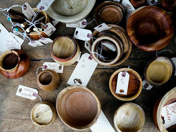 A selection of wood bowls for sale at last year´s Art Star Craft Bazaar. Expect this and more during this weekend´s bazaar. (Photo via Art Star Facebook)