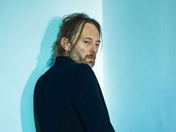 Thom Yorke, member of Atoms for Peace.