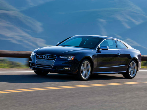 In addition to being fast, the Audi S5 handles wonderfully, with performance matching its eye appeal.