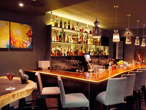 The bar at Avance, 1523 Walnut St.