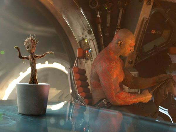 Baby Groot dances in ´Guardians of the Galaxy.´ (Photo via Walt Disney Studios Motion Pictures)