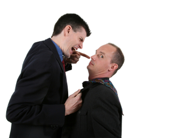 Your own reaction will determine whether a disagreement in the office heats up or cools down.