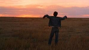 "Martin Sheen in Terrence Malick´s ""Badlands."""