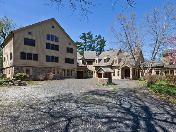 This Doylestown home, which was converted from a barn and farmhouse into a single 9,000-square-foot home, is on the market for $2.27 million.