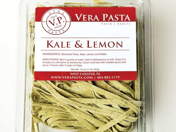 Vera Pasta, kale and lemon ( RON TARVER / Staff Photographer )