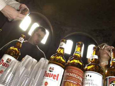 After State Police raids in search of unregistered beer, afficiandos found it hard to find some of the black-listed brands, such as Duvel, a popular Belgian Ale (file photo).