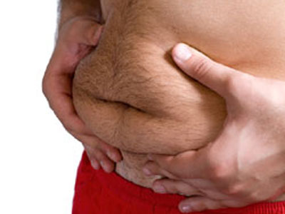 Deep Belly Fat Could Weaken Men´s Bones, Study Suggests