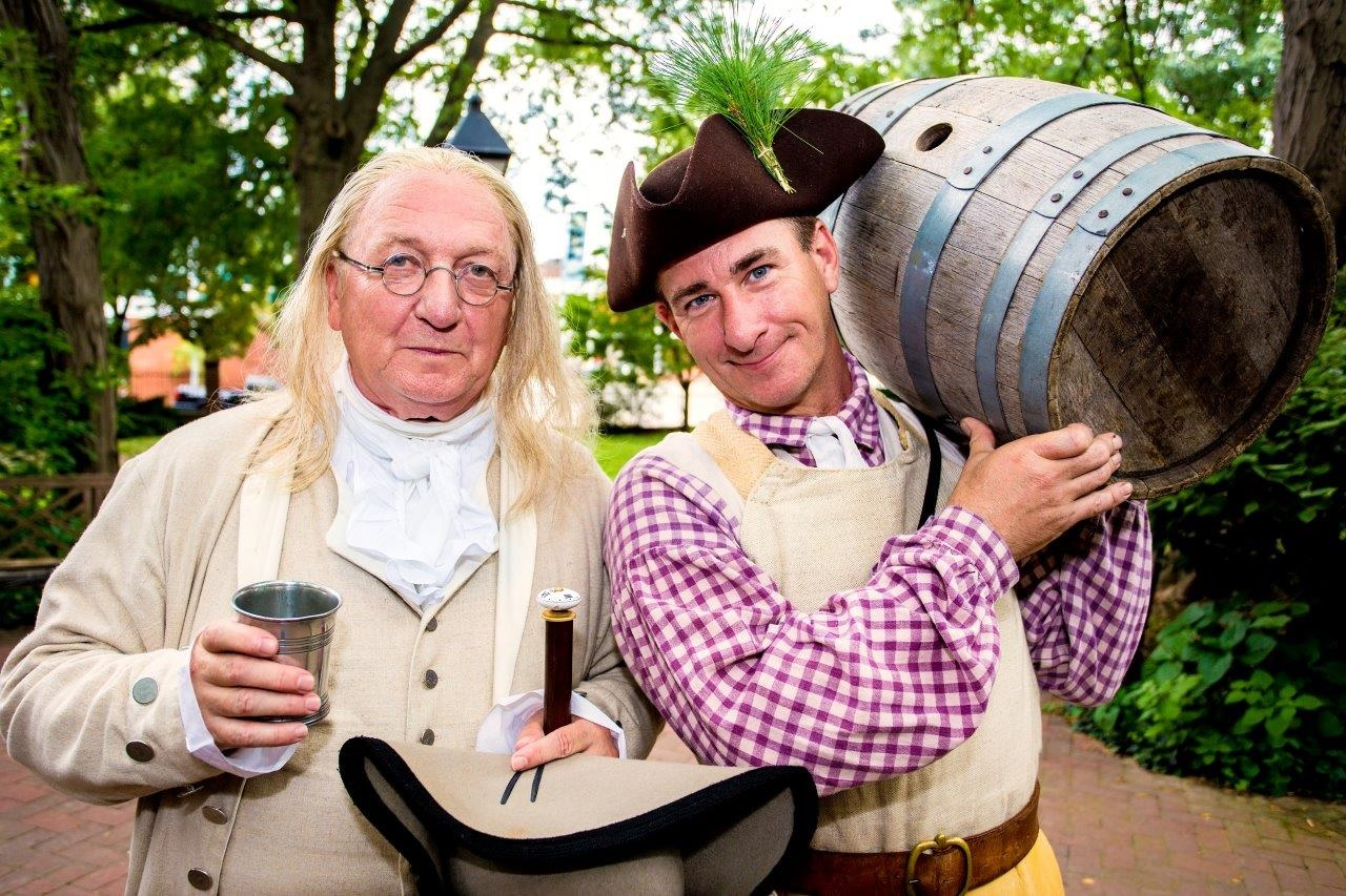 Get tipsy with Ben Franklin on his 311th birthday