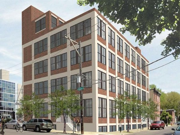 Domani Developers  is planning to convert a former baseball factory at 1701 Tulip Street in Fishtown into a 30-unit apartment complex. (Photo provided by PlanPhilly)