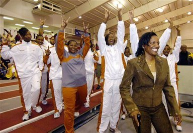 Former University of Texas women´s track and field coach Bev Kearney