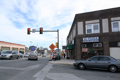 There won´t be a billboard atop 658 Lancaster Ave., after the Haverford Township Zoning Hearing Board voted unanimously against Bartkowski Investment Group´s challenge to the township´s zoning code. (Ashley Nguyen / Philly.com)