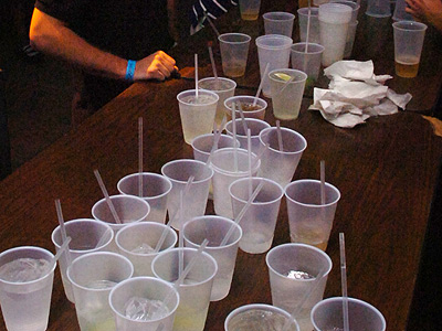 The Institute of Medicine, found that up to one in five teens has tried binge-drinking, yet only one in 100 parents think their teenaged son or daughter has done so. (AP Photo/Florida Today,Amanda Stratford)