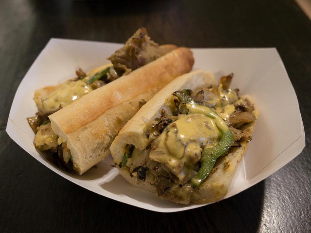 Vegan cheesesteak update