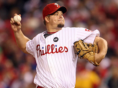 Phillies starter Joe Blanton has requested $10.25M in arbitration. (Yong Kim / Staff Photographer)