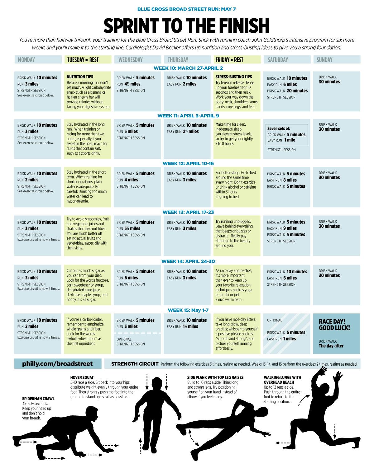 BlueCrossBroadStreetJpg   Running Schedule