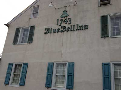 Blue Bell Inn in Montgomery County claims its founding to 1743.