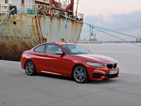 The 2014 BMW 2-Series replaces the brand´s smaller 1-Series. (BMW/MCT)
