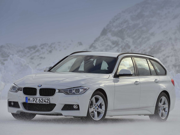 The 2014 BMW 3-Series sports wagon is only an inch shorter than BMW´s X3 crossover, and a good deal shorter. (BMW/MCT)