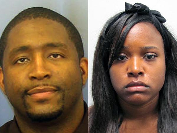 Ismael Seals, 34 (left), and Teresa Bivens, 27.