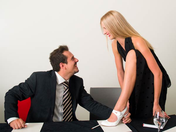Dating your boss at work gossip