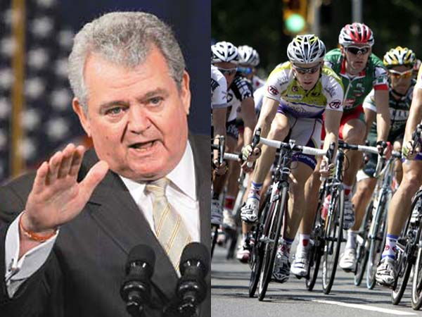 Congressman Bob Brady saved the 2013 bike race that was renamed the Philly Cycling Classic. (File photos)