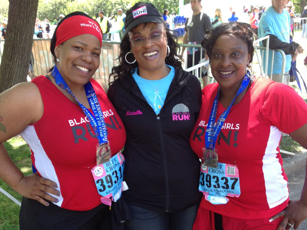 Left to right: Shani Fields, Michelle Getchell, Juana Minney.