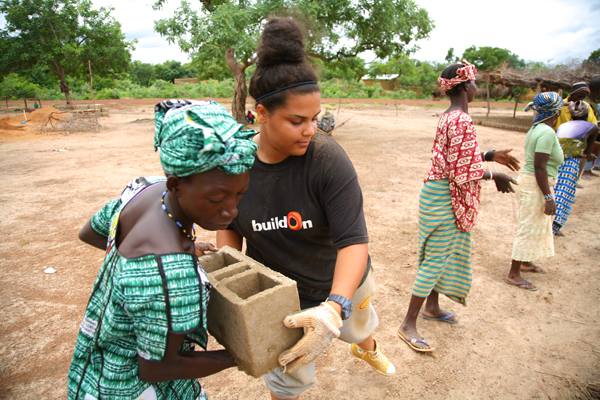 Founded by former financier Jim Ziolkowski, buildOn encourages youth volunteers to go global.