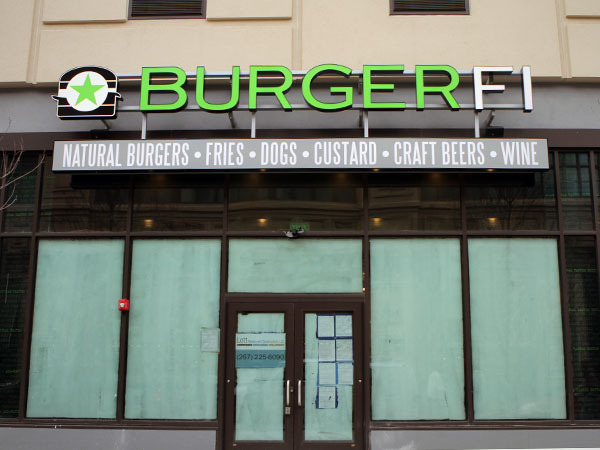 BurgerFi at 1200 Arch St. in Philadelphia. (Stephanie Aaronson/Philly.com)