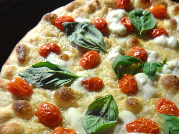 Burrata pizza at SLiCE.