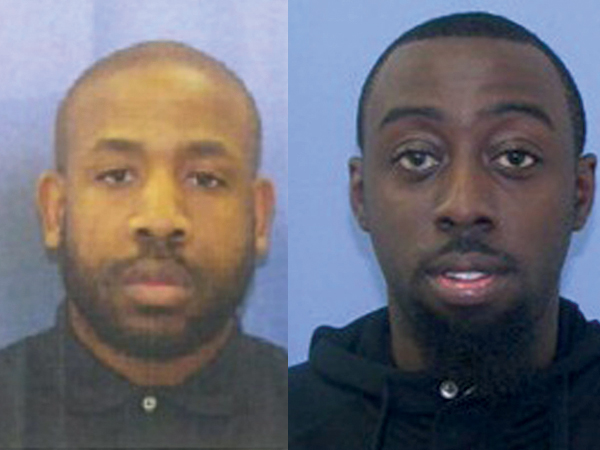 Hasian Womack, 35 (left), and Willie Dennis, 24.