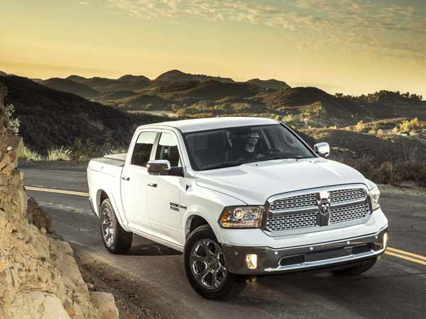 Ram gave its 1500 truck a thorough overhaul for the 2014 model year that included adding an all-new V-6 diesel option. This efficient engine looks to counter Ford's fuel-sipping EcoBoost, an optional turbocharged V-6 that 40% of F-150 buyers choose. (Chrysler Group/MCT)