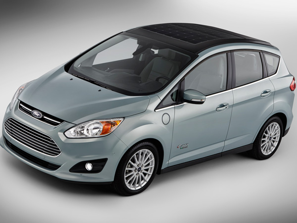 Leveraging what's arguably the cheapest form of alternative energy, Ford recently pulled the wraps off of a prototype version of its compact C-MAX wagon that draws power from the sun.