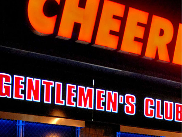 The dancers at South Philadelphia's Cheerleaders Gentlemen's Club could soon go from scantily clad to scantily bare. (File photo)