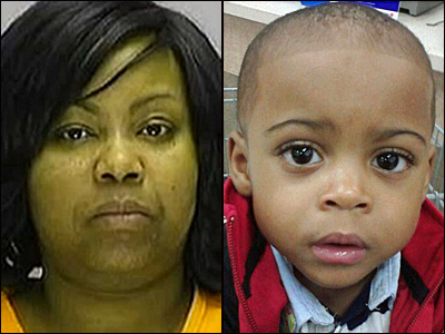 Chevonne Thomas, 34, killed her 2-year-old son Zahree before killing herself in a brief standoff with police, police say.