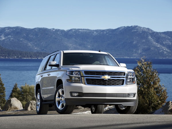 The 2015 Chevrolet Tahoe is one of the few SUVs still to be based on a full-size truck platform. (Chevrolet/MCT)