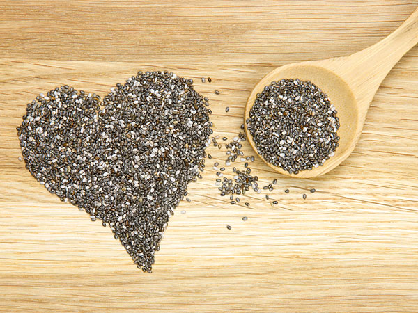 Chia seeds are a true super food, rich in essential fats, protein, fiber and minerals.