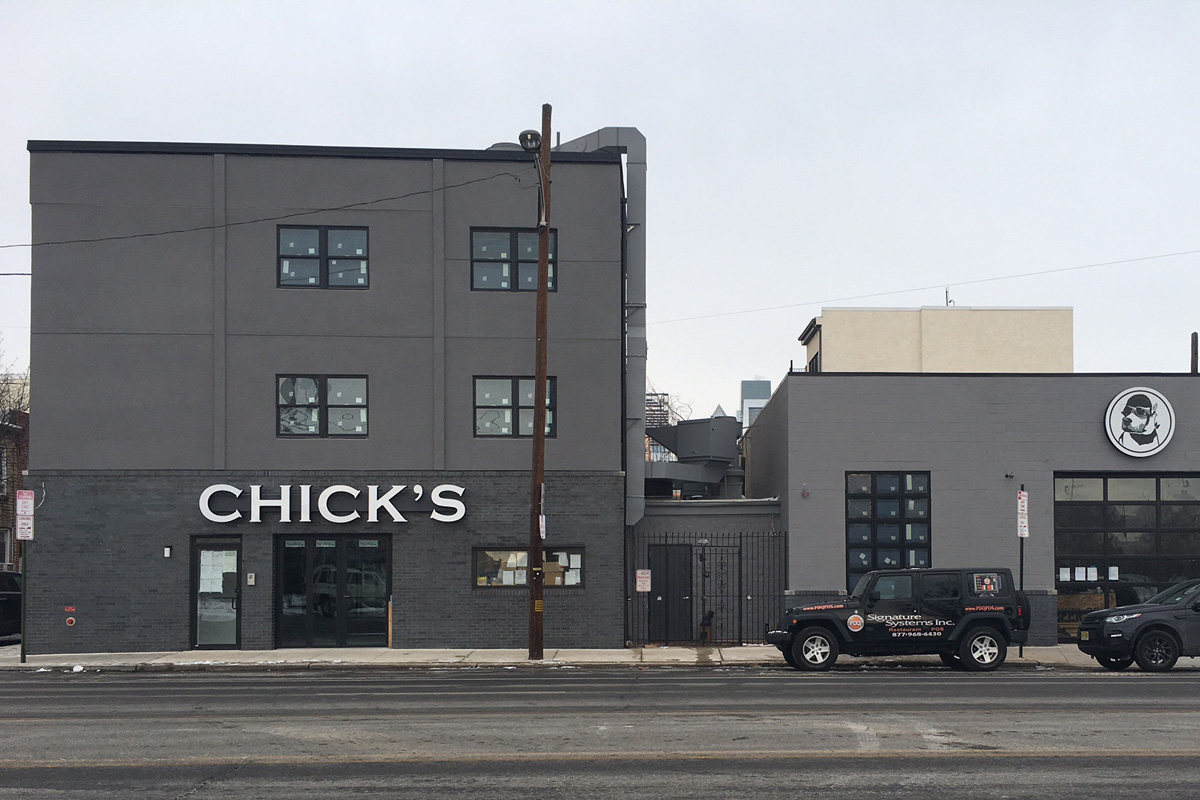Chick´s is new at 1807 Washington Ave.
