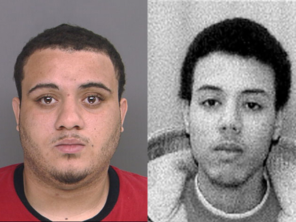 Philadelphia men Edgardo Hernandez, 22 (left), and Yorgardy Leonardo, 19, are accused of possessing child pornography.