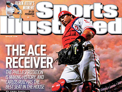 Carlos Ruiz is on a regional cover of Sports Illustrated this week.