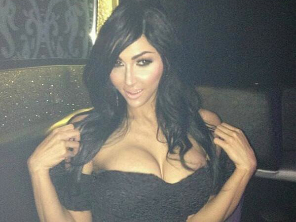 Claire Leeson spent $30,000 to look like Kim Kardashian.