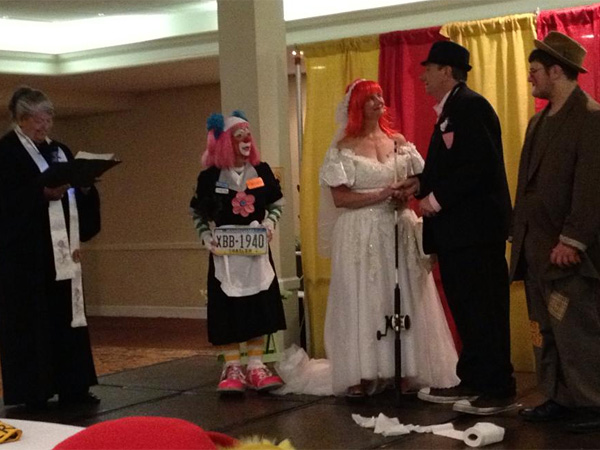Clown Wedding In Lancaster Shows A Love Of Humor Philly