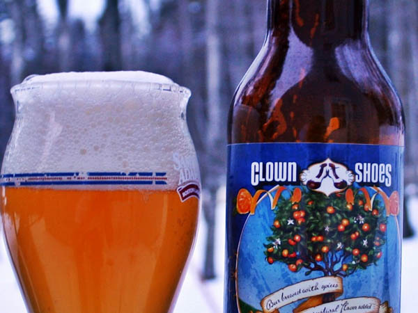 Snow is just another excuse to drink your favorite brewskies. Clown Shoes Clementine is one of our personal vices.