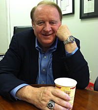 Former Gov. Richard J. Codey in his West Orange, NJ office. (Monica Yant Kinney/Staff)