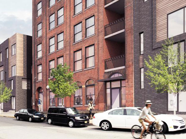 Commercial space at 420 Fairmount Ave. (Courtesy of ISA via PlanPhilly)