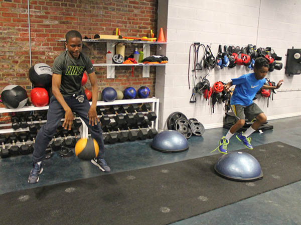 Members of the community and their families are invited to learn healthy practices at Joe Hand Boxing Gym. (Photo via Joe Hand Promotions)