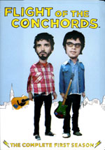 "The DVD release of the New Zealand mock rockers' ""Flight of the Conchords — The Complete First Season."""