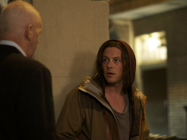 "Cory Monteith in the Philly-shot ""McCannick"""