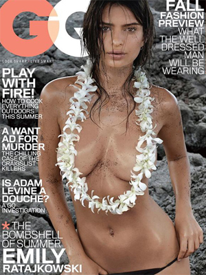 The  GQ cover found offensive by numerous Lands´ End customers who, without permission, were sent a free copy in the mail.